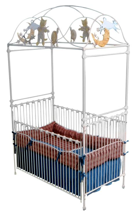 Cat Crib by Cat And The Fiddle Canopy Crib