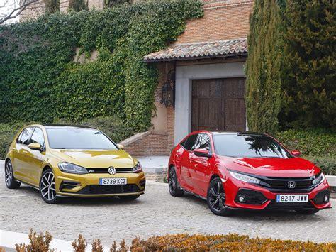 Volkswagen Vs Honda by Volkswagen Golf Vs Honda Civic David Contra Goliat