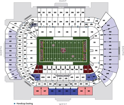 kyle field section map why kyle field is better than your stadium page 4