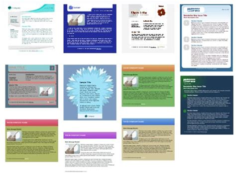 free email newsletter templates 100 free html email newsletter templates patternhead