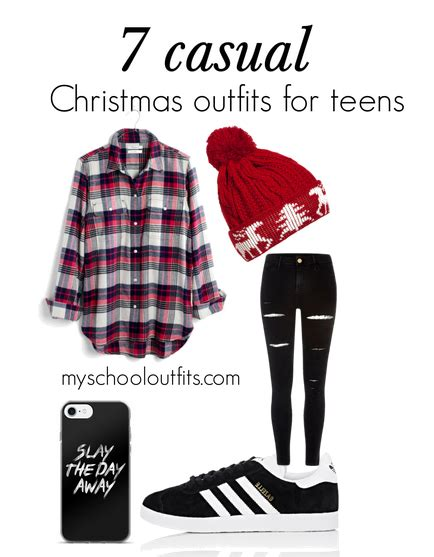 7 casual christmas outfits for teens myschooloutfits com