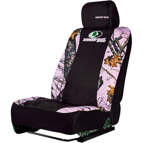 mossy oak seat covers walmart mossy oak pink camouflage low back seat cover