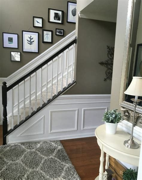 Wainscoting Stairs by Diy Classic Wainscoting Tutorial