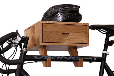 Wood Wall Bike Rack by Wooden Bicycle Wall Rack 1 Cyclemiles