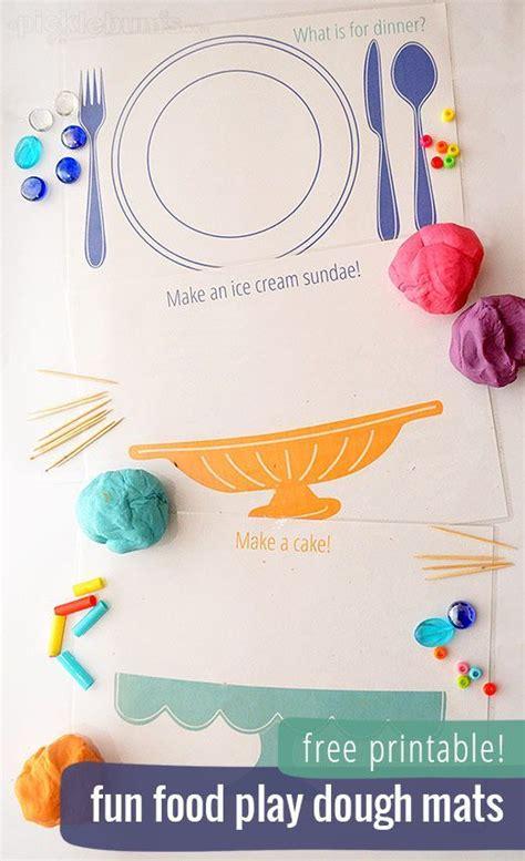 printable playdough activity mats play dough mats play dough and fun food on pinterest
