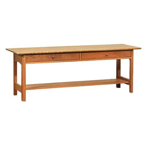Low Sofa Table by Modern Shaker 2 Drawer Low Console Wood Coffee Table