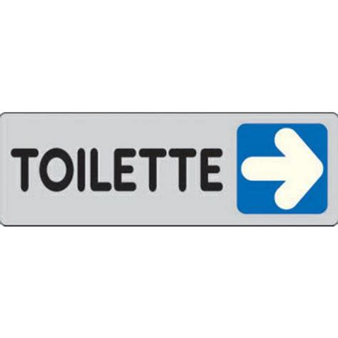 freccia interni targhetta per interni toilette freccia a destra