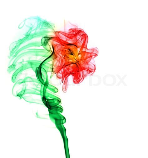 Supplier Flower Puff By Factory abstract multi colored smoke puff in form of flower isolated on white stock photo colourbox