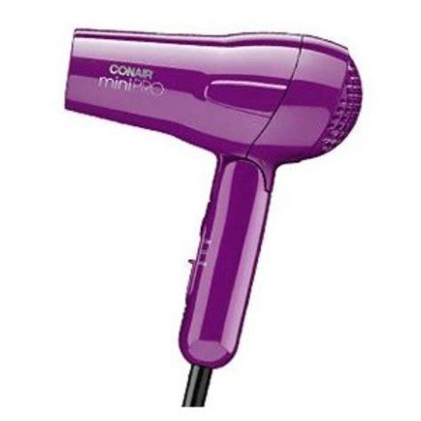 Purple Mini Hair Dryer i m learning all about conair mini pro folding handle