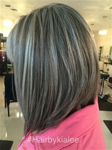 exles of silver and grey lowlights grey hair with highlights and lowlights hair color