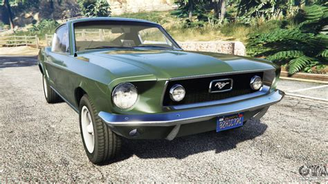Gta 5 Autos Mustang by Ford Mustang 1968 For Gta 5