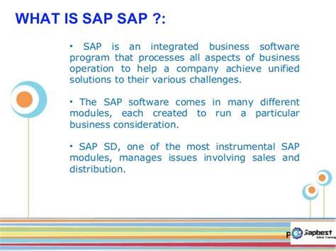 Sap Sd Online Training Sap Sd Job Support Sap Sd Certification Tr Sap Powerpoint Template