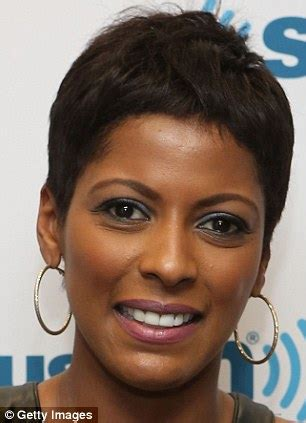 the today show tamara hair cut tamron hall debuts her natural wavy crop on today show