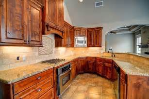 attractive knotty alder cabinets optimizing home decor ideas