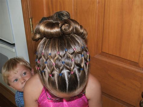 hairstyles for gymnastics meets countin my blessings september 2010