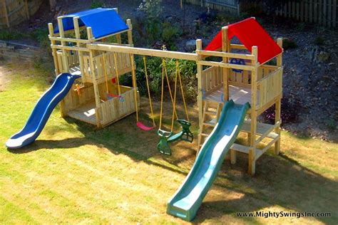 swing sets playground equipment mighty swings superior playgro from atlanta swing sets