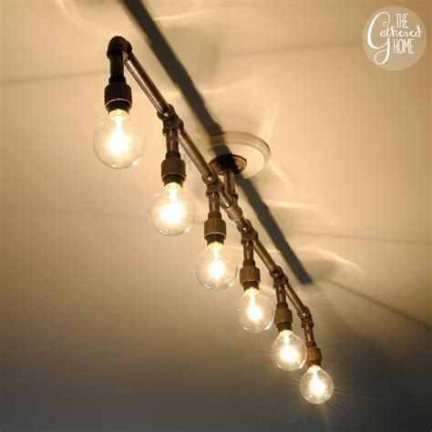 Build A Light Fixture How To Make A Fabulous Plumbing Pipe Light Fixture