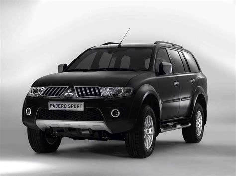 pajero sport mitsubishi mitsubishi pajero india price review images