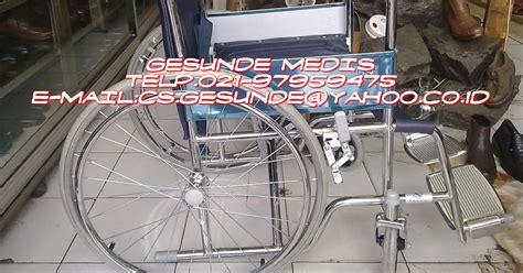 Kursi Roda Electric jual kursi roda standar velg jari jari dengan harga murah