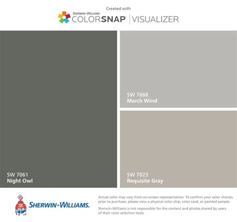 i found these colors with colorsnap 174 visualizer for iphone by sherwin williams owl sw