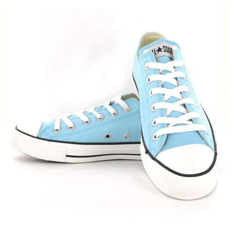 Converse Chuck Taylor All Star Ox Shoes Light Blue On
