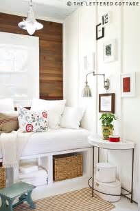 Cottage bedroom ideas lettered cottage