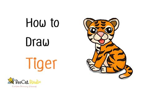 how to draw a tiger drawing how to draw a tiger drawings nocturnal