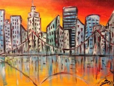 paint nite groupon los angeles session 73 december 20th 12pm paintings