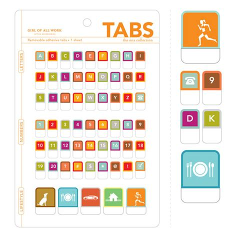 printable alphabet tabs alphabet numbers pictograms peel stick tabs