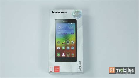 Lenovo A6000 Unboxing Lenovo A6000 Unboxing 2015 91mobiles