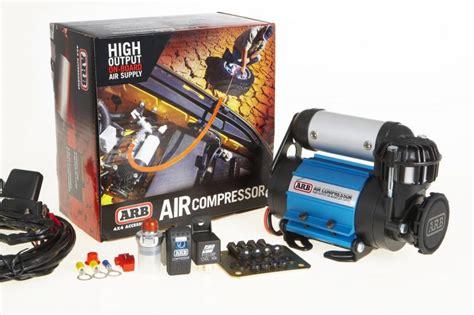 arb ckma12 arb high output onboard air compressor quadratec