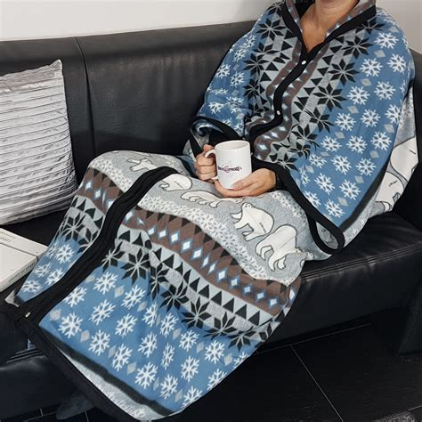 sofa blanket with sleeves blanket with sleeves fleece cover lounge sofa tv blanket