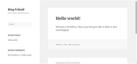 tutorial membuat web dengan wordpress tutorial membuat website dengan wordpress bagian 3