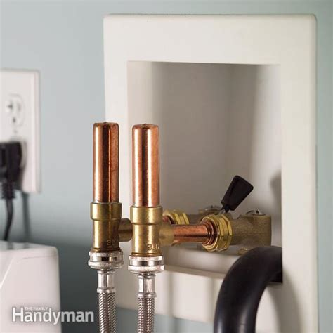 Hammer Arrestors Plumbing how to use water hammer arresters to stop banging water lines the family handyman