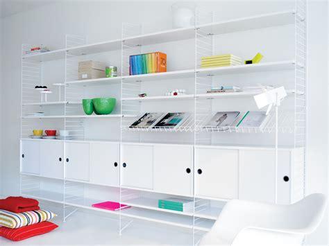 string shelving buy the string shelf system white white at nest co uk