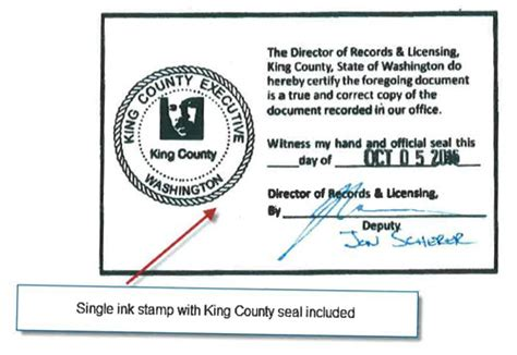 King County Washington Property Records Request A Copy King County