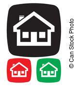 icona casa casa icona vettore set houses illustrazione icone