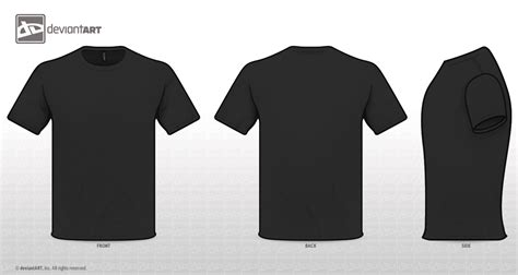 Black T Shirt Png Artee Shirt Black T Shirt Template