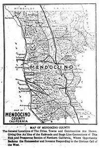 where is mendocino county in california on the map history of mendocino county california