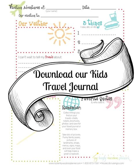 printable vacation journal pages 17 best images about travel fun on pinterest coloring