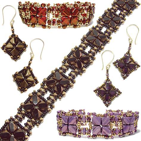 nexus bracelet and earrings