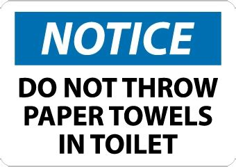 What Is Cabinet Glazing Do Not Throw Paper Towel In Toilet Sign N261 Nmc N261