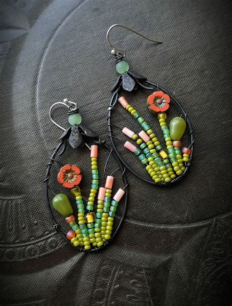 Beaded Earrings best 25 beaded earrings ideas on diy beaded