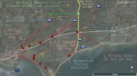 map ukraine separatist area july 2015 bellingcat the burning road to mariupol attacks from