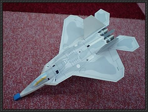 Origami F22 - lockheed martin f 22 raptor fighter ver 3 free aircraft