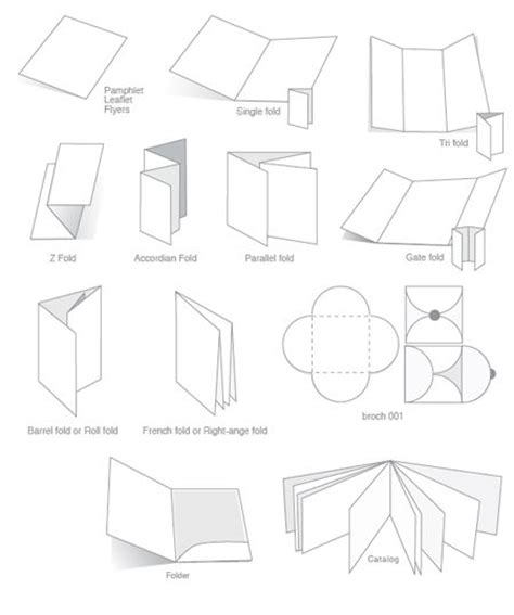 How To Make A Brochure Out Of Paper - 193 best images about brochure design layout on