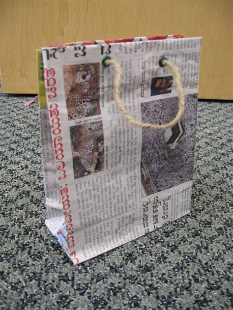 Paper Bags From Newspaper - 19 diy newspaper bags guide patterns