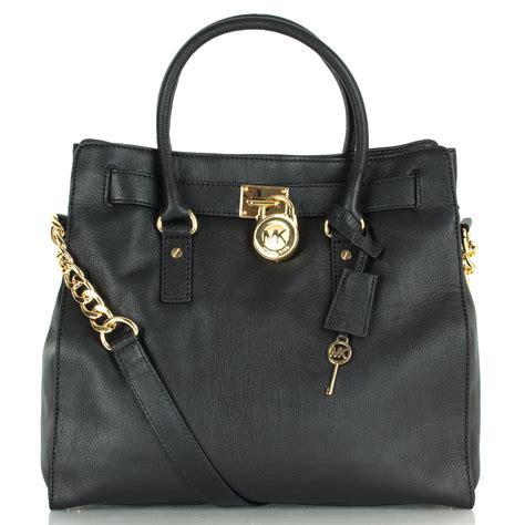 Mk Bag michael kors black hamilton large tote womens bag