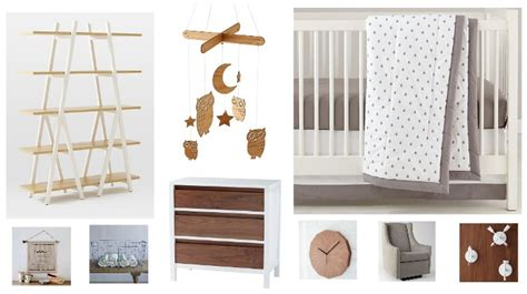 4 In 1 Crib With Changing Table White Amp Wood Rustic Baby Nursery Rustic Baby Chic