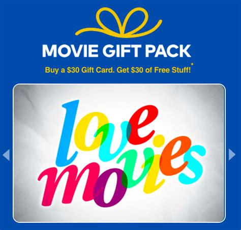 Where To Buy Cineplex Gift Card - cineplex canada movie gift pack buy a 30 gift card and get 30 of free stuff hot